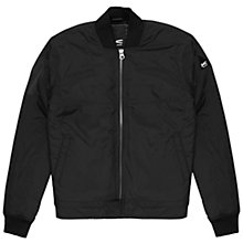 Buy Denham Airwing Bomber Jacket, Cinder Black Online at johnlewis.com