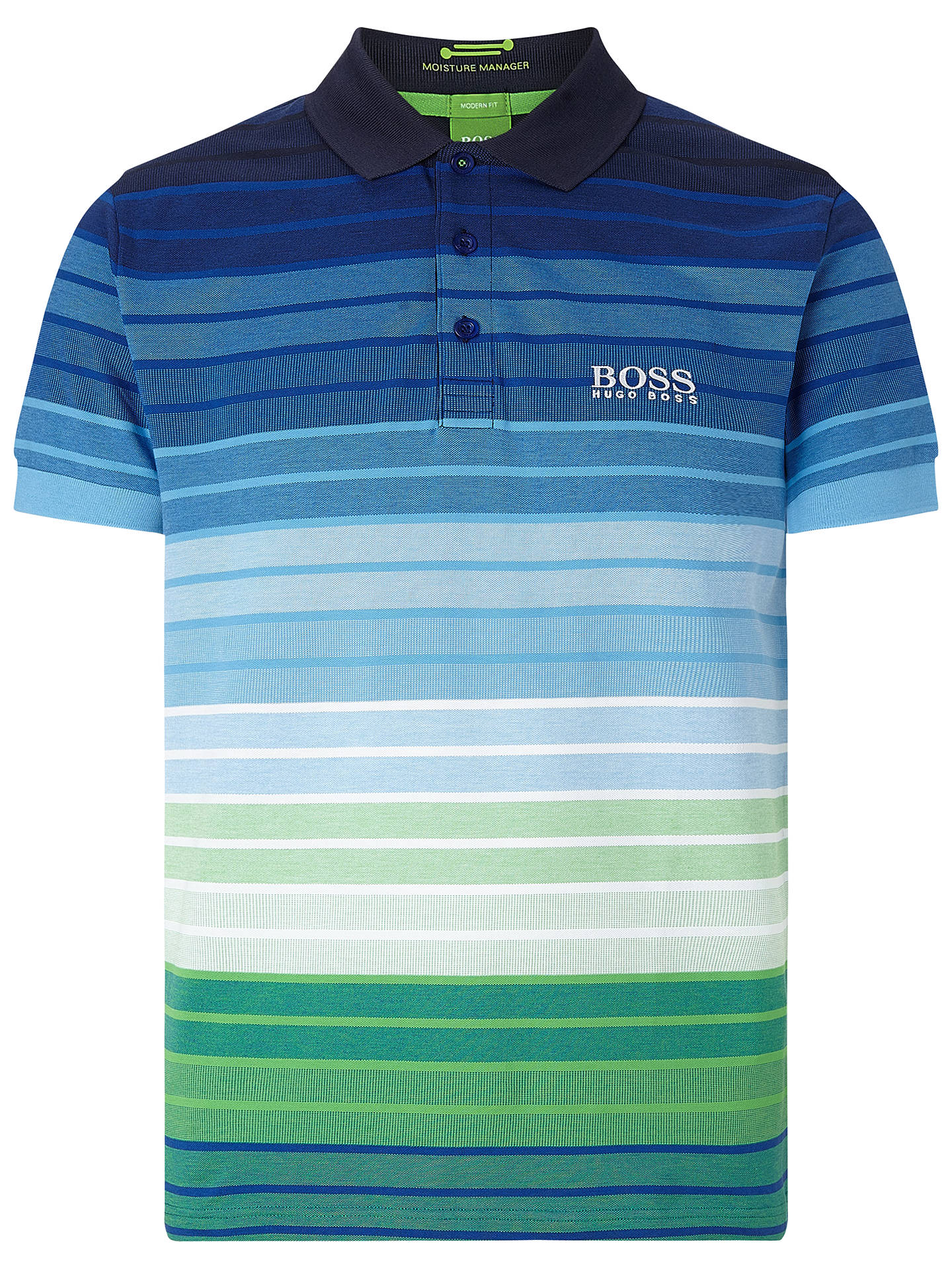 1a3e7e025 Buy BOSS Green Pro Golf Paddy Pro 1 Polo Shirt, Navy, S Online at ...
