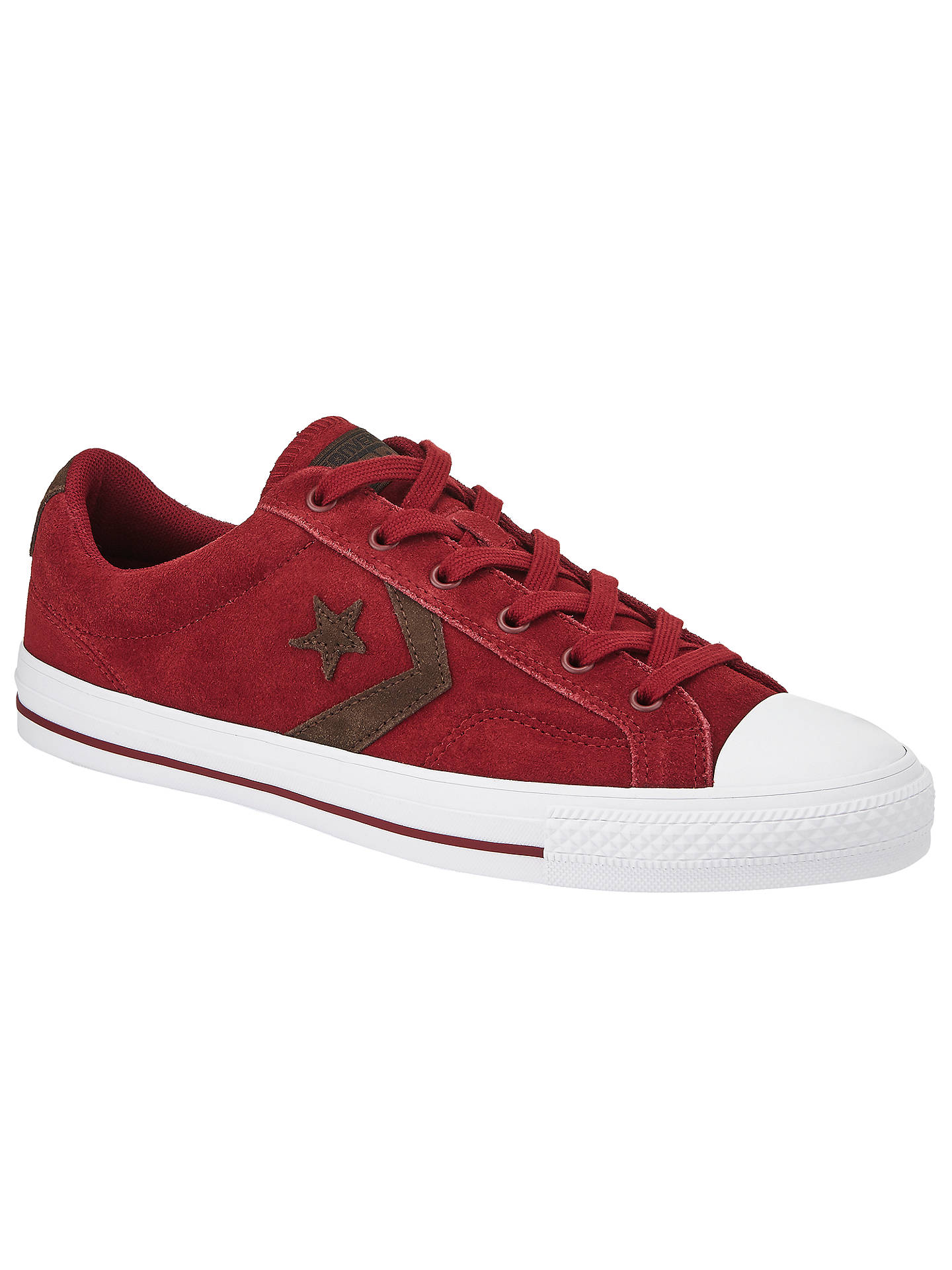 c8991c284e6 Converse Star Player Suede Trainers at John Lewis & Partners