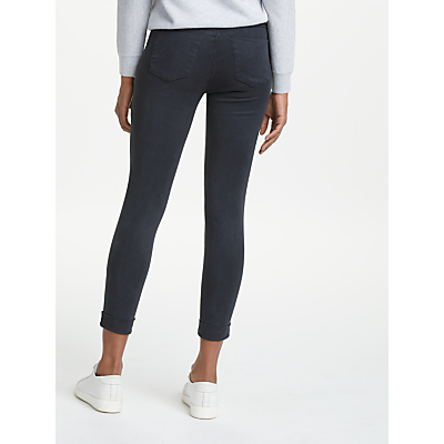 J Brand Anja Mid Rise Cropped Skinny Jeans, Dark Navy