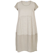 Buy Chesca Mixed Stripe Linen Dress Online at johnlewis.com