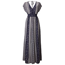 Buy Phase Eight Thalia Maxi Dress, Navy/Ivory Online at johnlewis.com