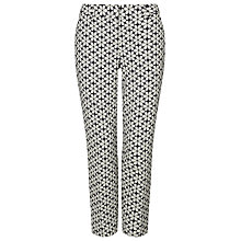Buy Phase Eight Alice Daisy Trousers, Blue/White Online at johnlewis.com
