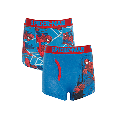 Product photo of Spiderman boys trunks pack of 2 blue