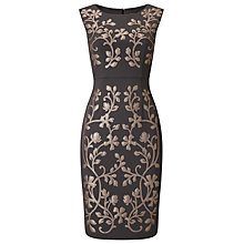 Buy Phase Eight Vincent Flower Dress, Pewter Online at johnlewis.com