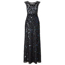 Buy Phase Eight Collection 8 Betsy Sequinned Full Length Dress, Petrol Blue Online at johnlewis.com