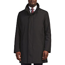 Buy Bugatti 94cm Funnel Neck Water-Repellent Raincoat, Black Online at johnlewis.com