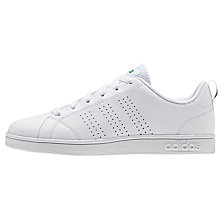 Buy adidas Advantage VS Lace Up Sports Shoes, White Online at johnlewis.com