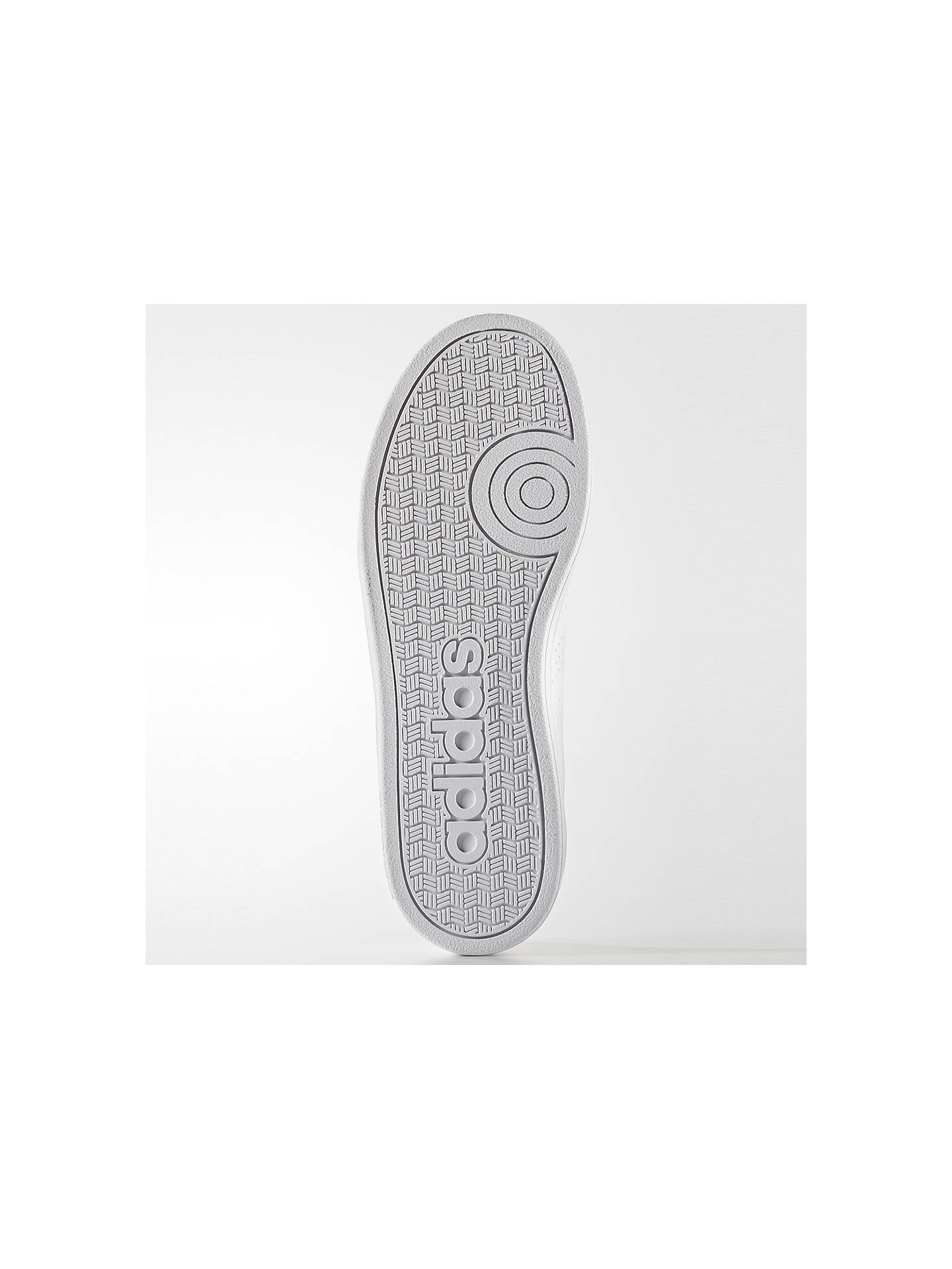 Buyadidas Children's Advantage VS Lace Up Sports Shoes, White, 3 Online at johnlewis.com