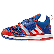 Buy Adidas Children's Marvel Spider-Man Riptape Trainers Online at johnlewis.com