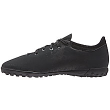 Buy Adidas Children's Laced Core Football Boot, Black Online at johnlewis.com