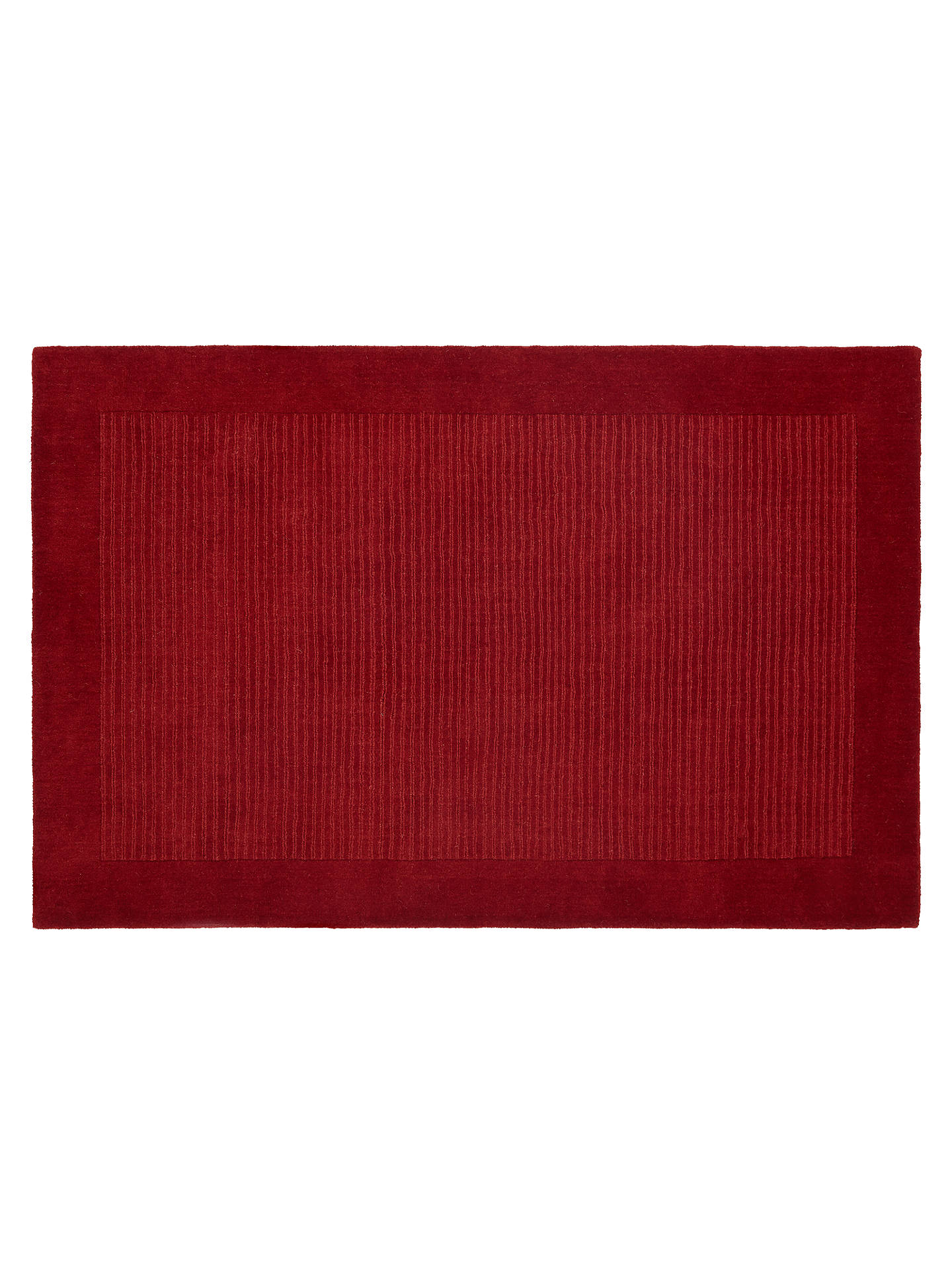 Buy John Lewis & Partners Perth Rug, Red, L300 x W200cm Online at johnlewis.com