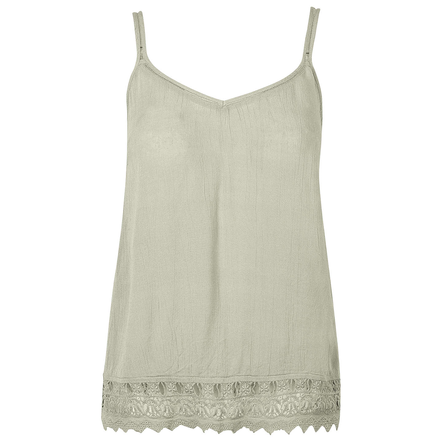 BuyFat Face Saunton Cami Top, Bamboo Leaf, 6 Online at johnlewis.com