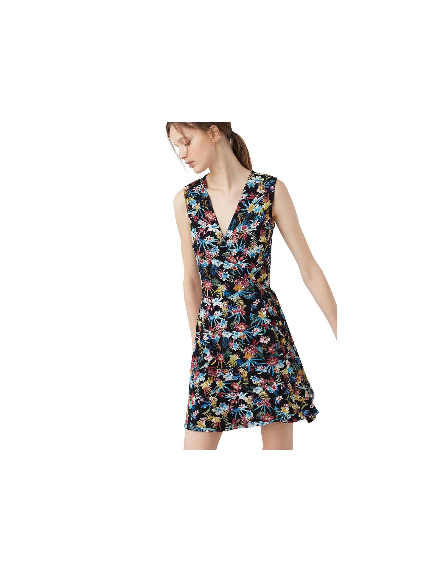 Mango Belt wrap dress