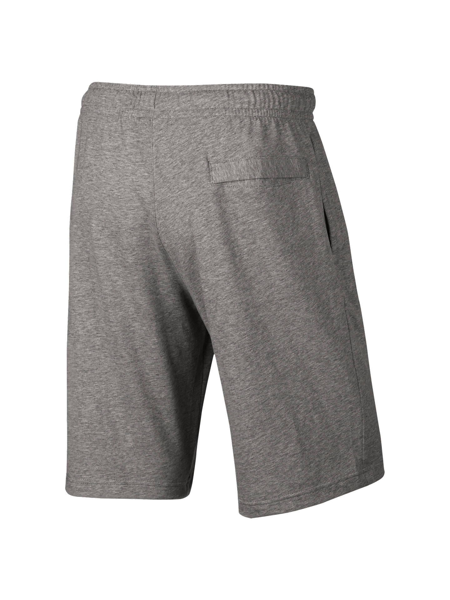 BuyNike AW77 French Terry Training Shorts, Dark Grey/Heather, S Online at johnlewis.com