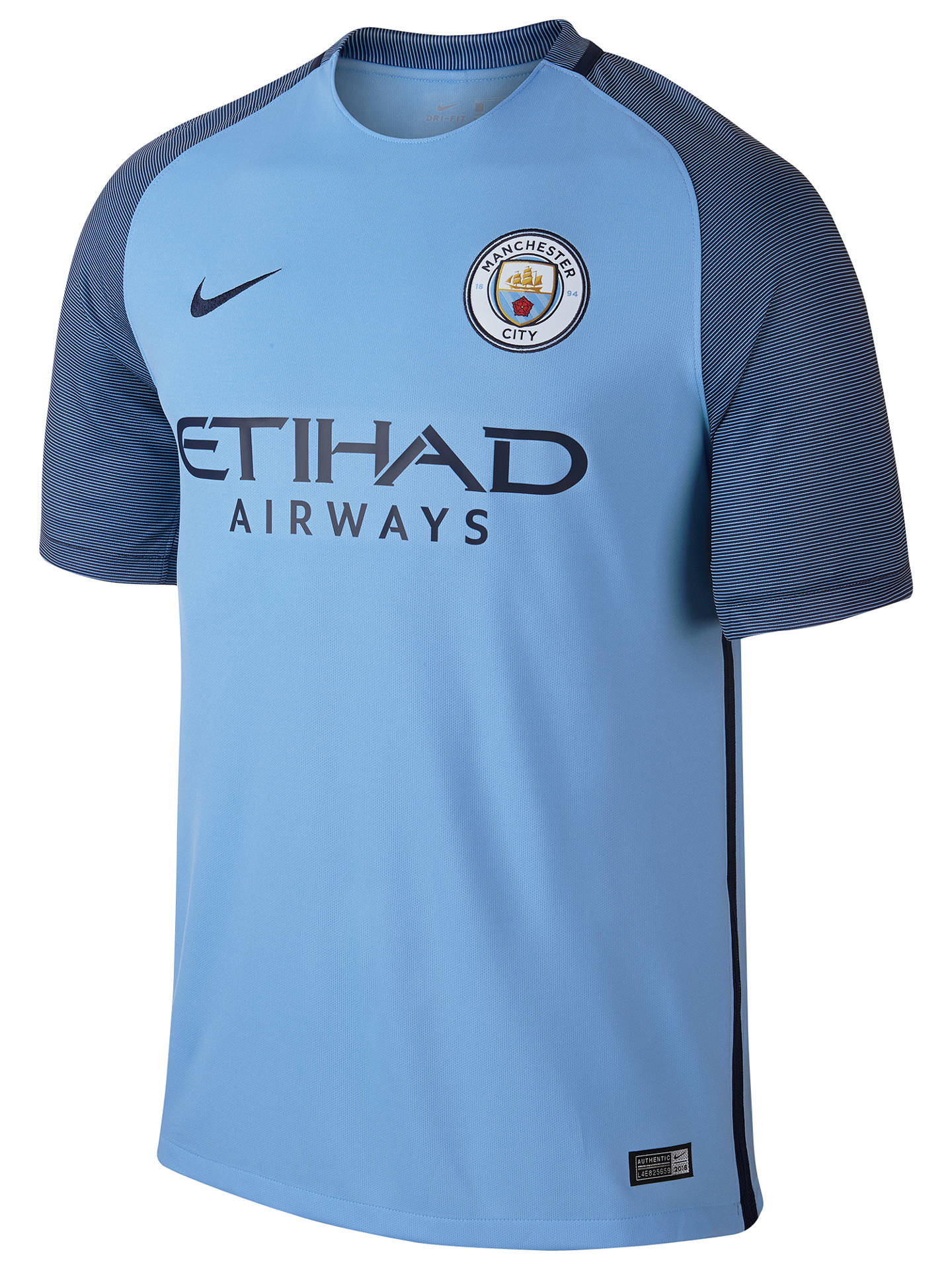 c4be7a2d56e Buy Nike 2016/17 Manchester City FC Home Football Shirt, Blue, S Online ...