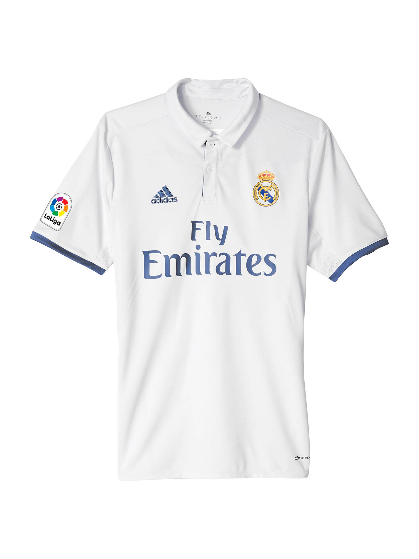 3ea2c9b1d Buy Adidas 2016 17 Real Madrid Home Football Shirt