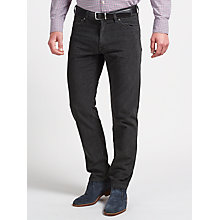 Buy Gant Jason Soft Twill Regular Straight Jeans Online at johnlewis.com