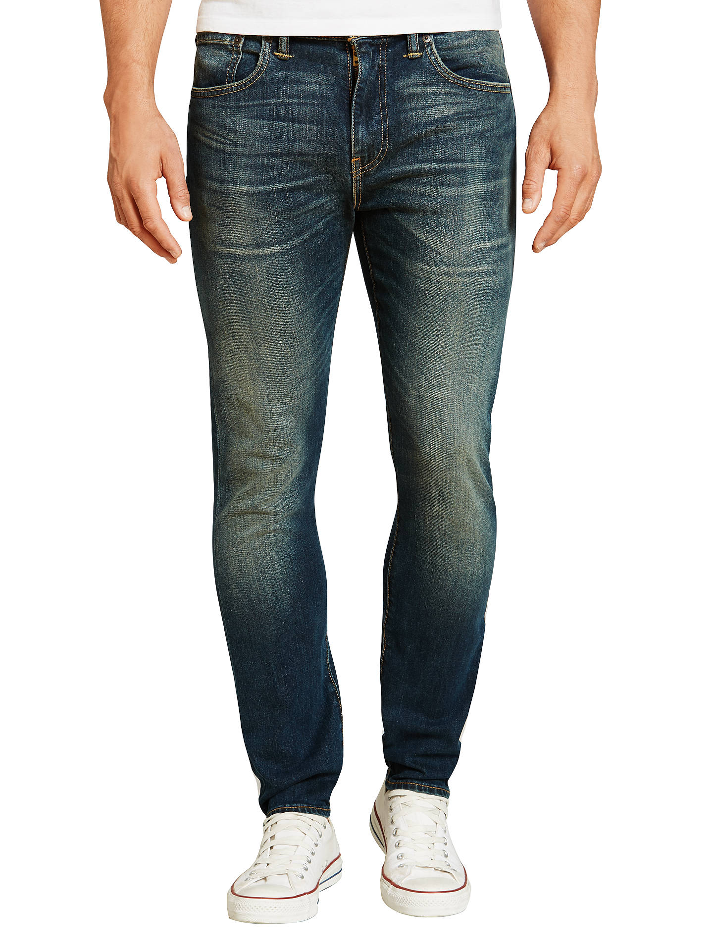 353f344cf3e Buy Levi's 512 Slim Tapered Jeans, Captain Patrick, 34S Online at  johnlewis. ...