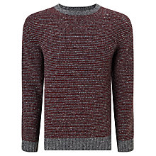 Buy John Lewis Frosty Stripe Crew Neck Jumper Online at johnlewis.com