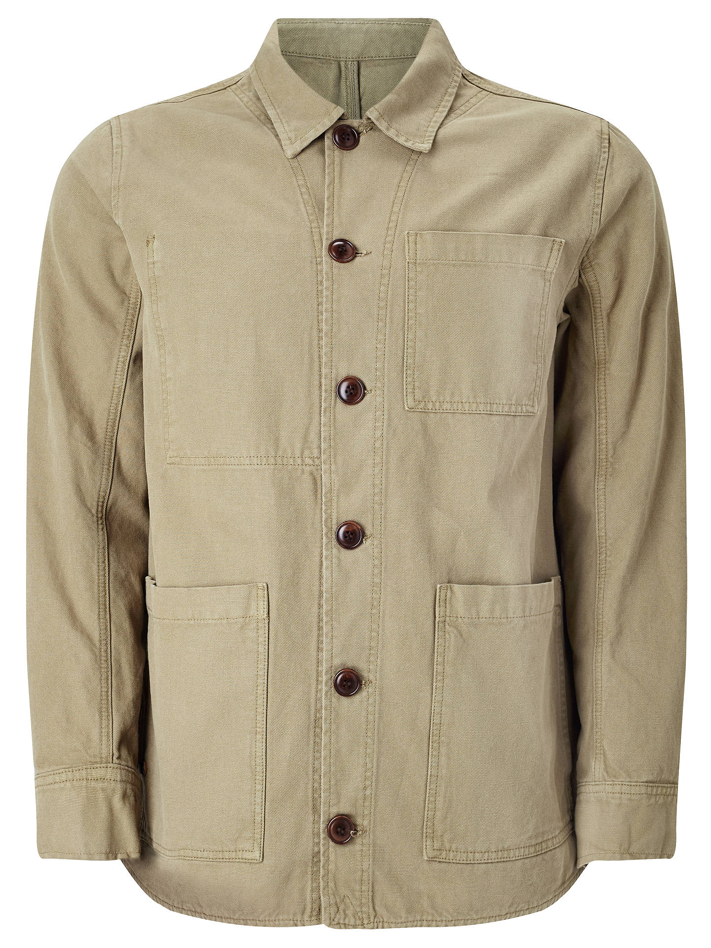 d82175b34b JOHN LEWIS & Co. Canvas Workwear Jacket at John Lewis & Partners