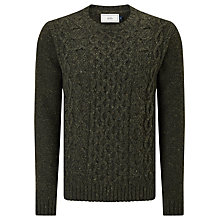 Buy John Lewis Frosty Cable Crew Neck Jumper Online at johnlewis.com