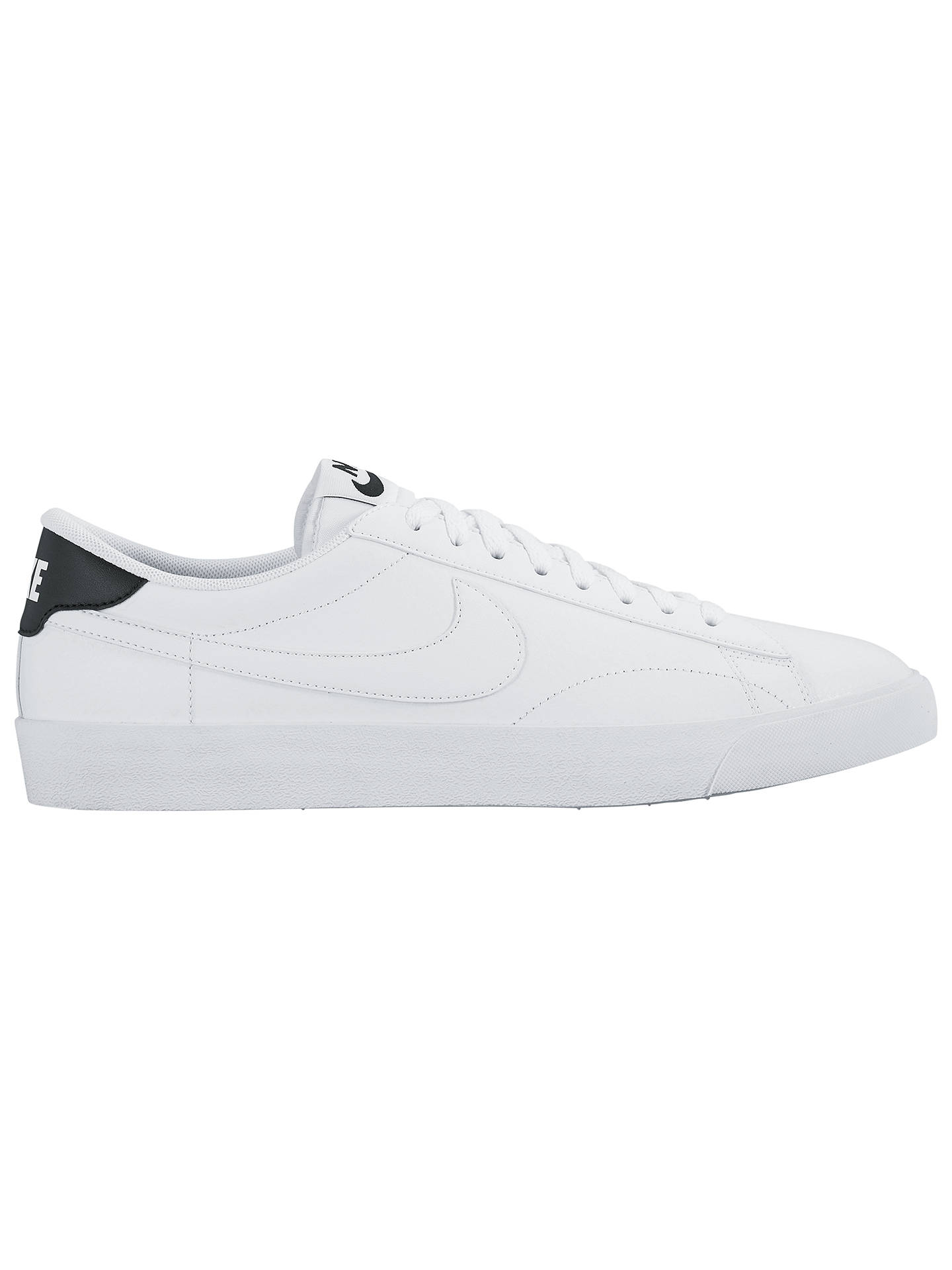 best service 499c1 2f3ae Buy Nike Tennis Classic AC ND Men s Trainers, White Black, 7 Online at ...