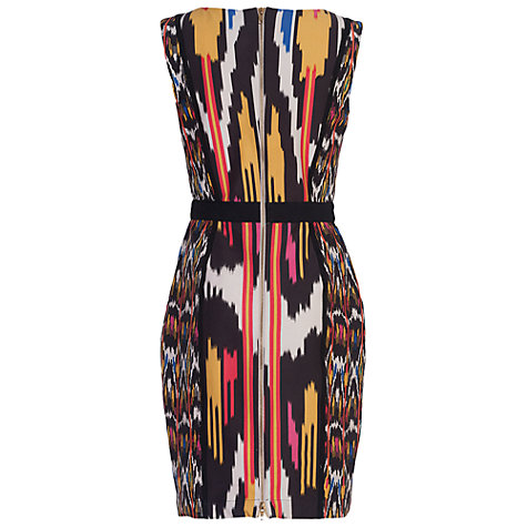 Buy French Connection Matos Stripe Dress, Black/Multi Online at johnlewis.com
