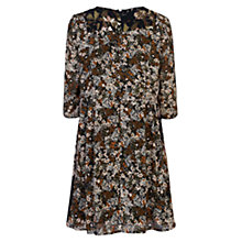 Buy French Connection Evelyn Rose Dress, Gator Green Online at johnlewis.com