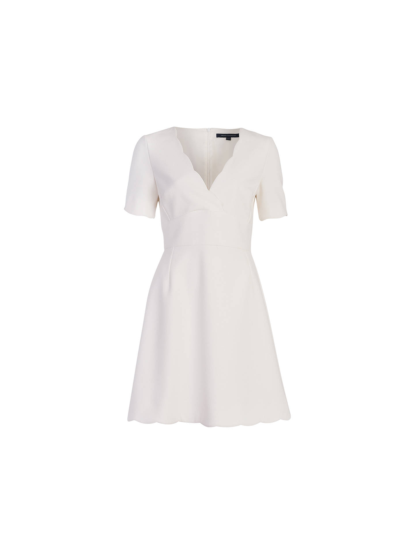 8ef841e61599 Buy French Connection Sundae Dress, Daisy White, 6 Online at johnlewis.com  ...