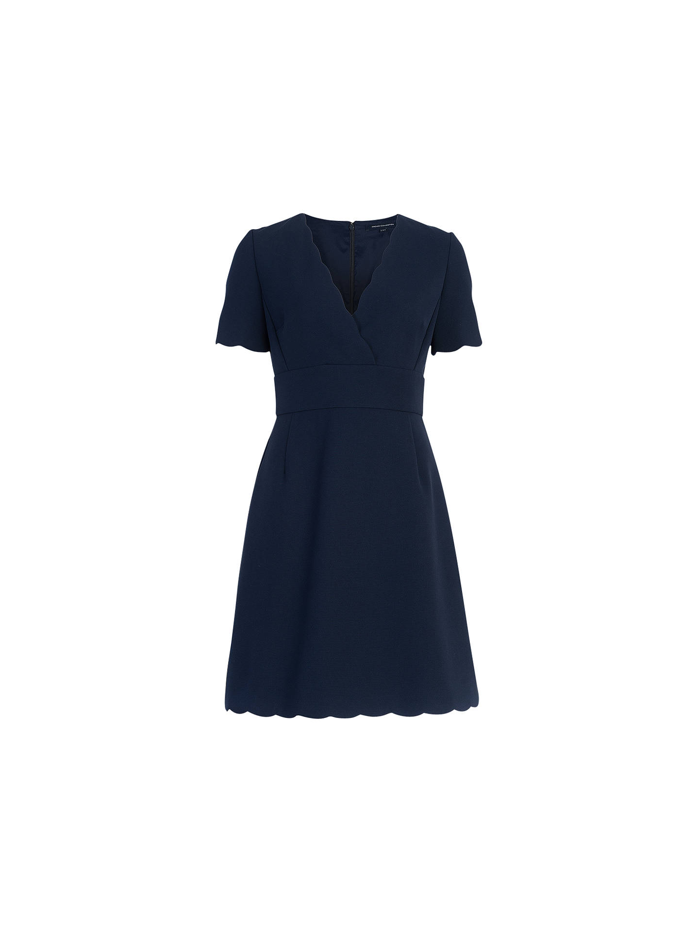 1eeb49eecb5b Buy French Connection Sundae Suiting Dress, Nocturnal, 6 Online at  johnlewis.com ...