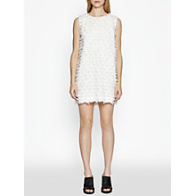 Buy French Connection Summer Sky Tunic Dress, Winter White Online at johnlewis.com