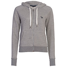 Buy French Connection Mini Mara Hoodie, Light Grey Mel Online at johnlewis.com