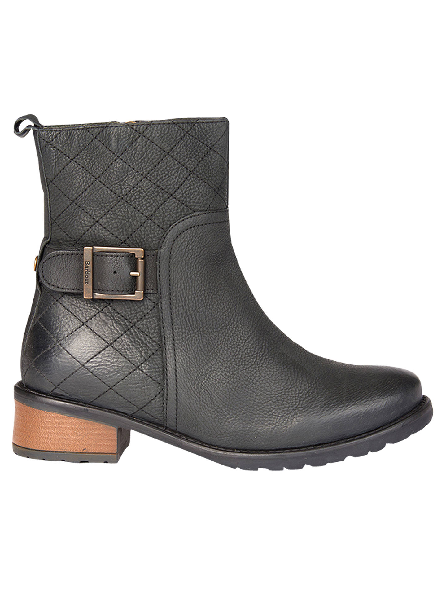 b6a43670dce Barbour Lambeth Block Heeled Ankle Boots at John Lewis & Partners