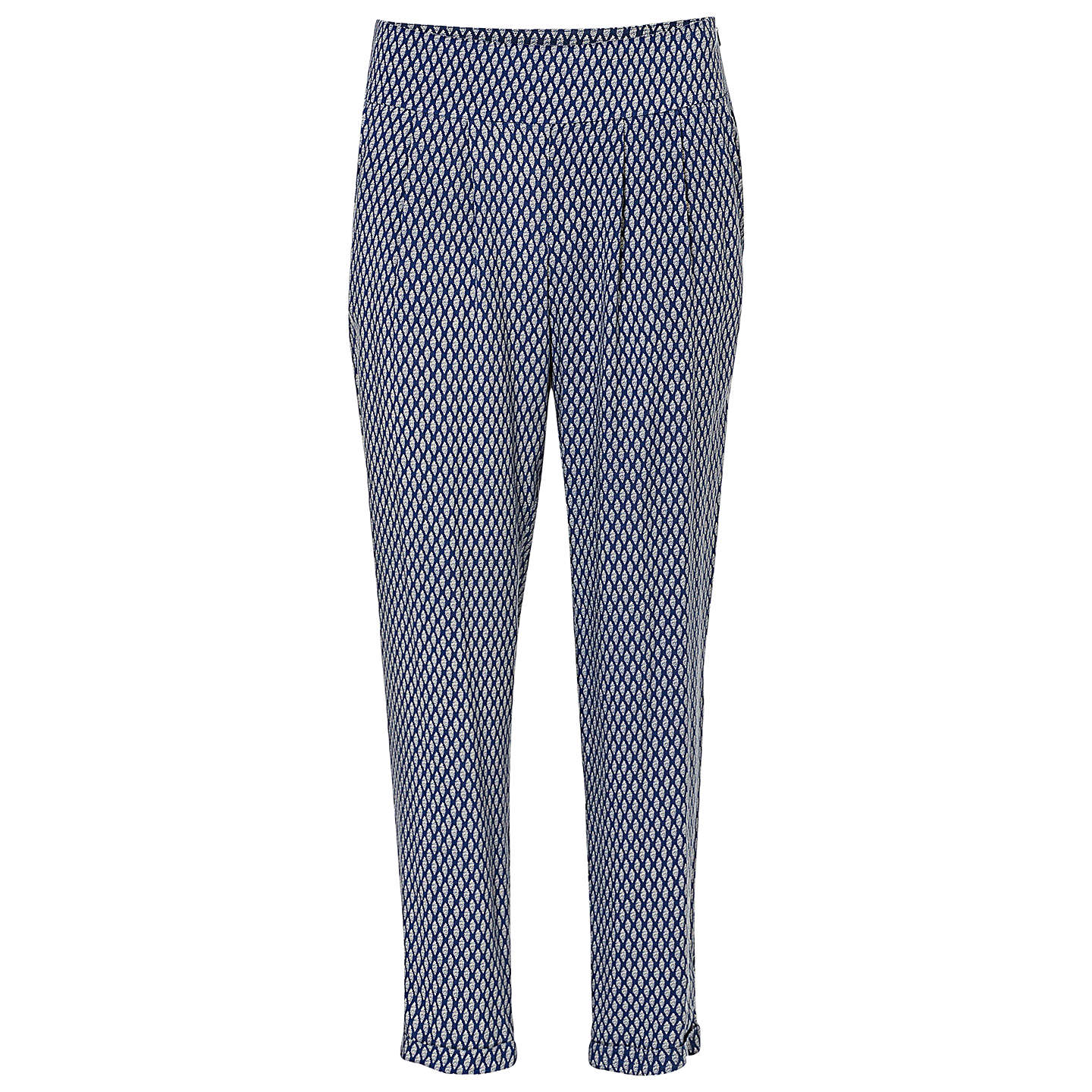 BuyBetty & Co. Graphic Print Trousers, Dark Blue, 10 Online at johnlewis.com