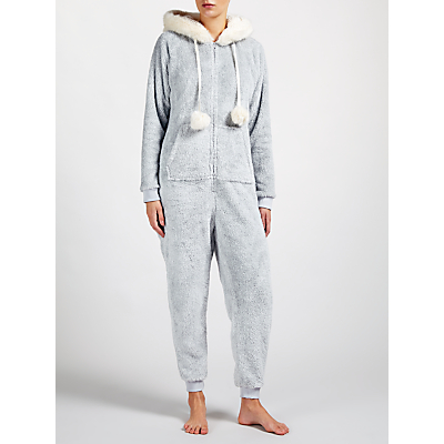 John Lewis Novelty Onesie, Grey