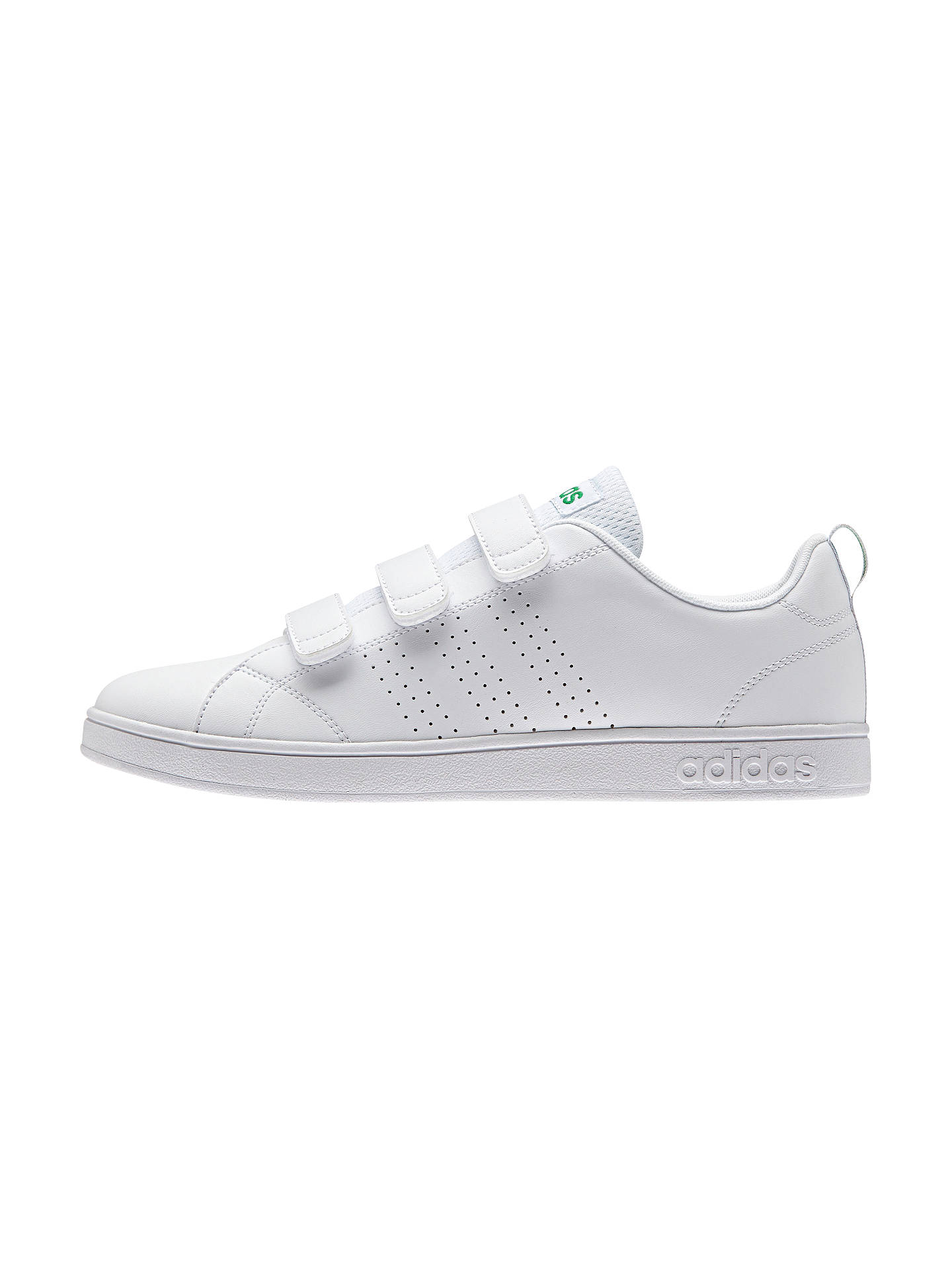 Adidas Neo Advantage Clean 3 Strap Mens Trainers White At John Cleans Black Buyadidas 9 Online Johnlewis