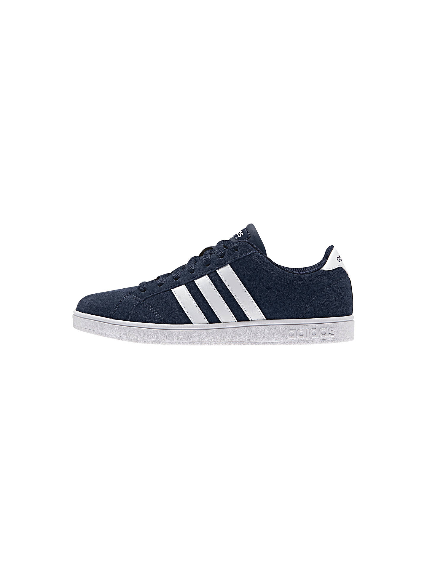 quality design 2e014 b1253 BuyAdidas Neo Baseline Womens Trainers, Navy, 4 Online at johnlewis. ...