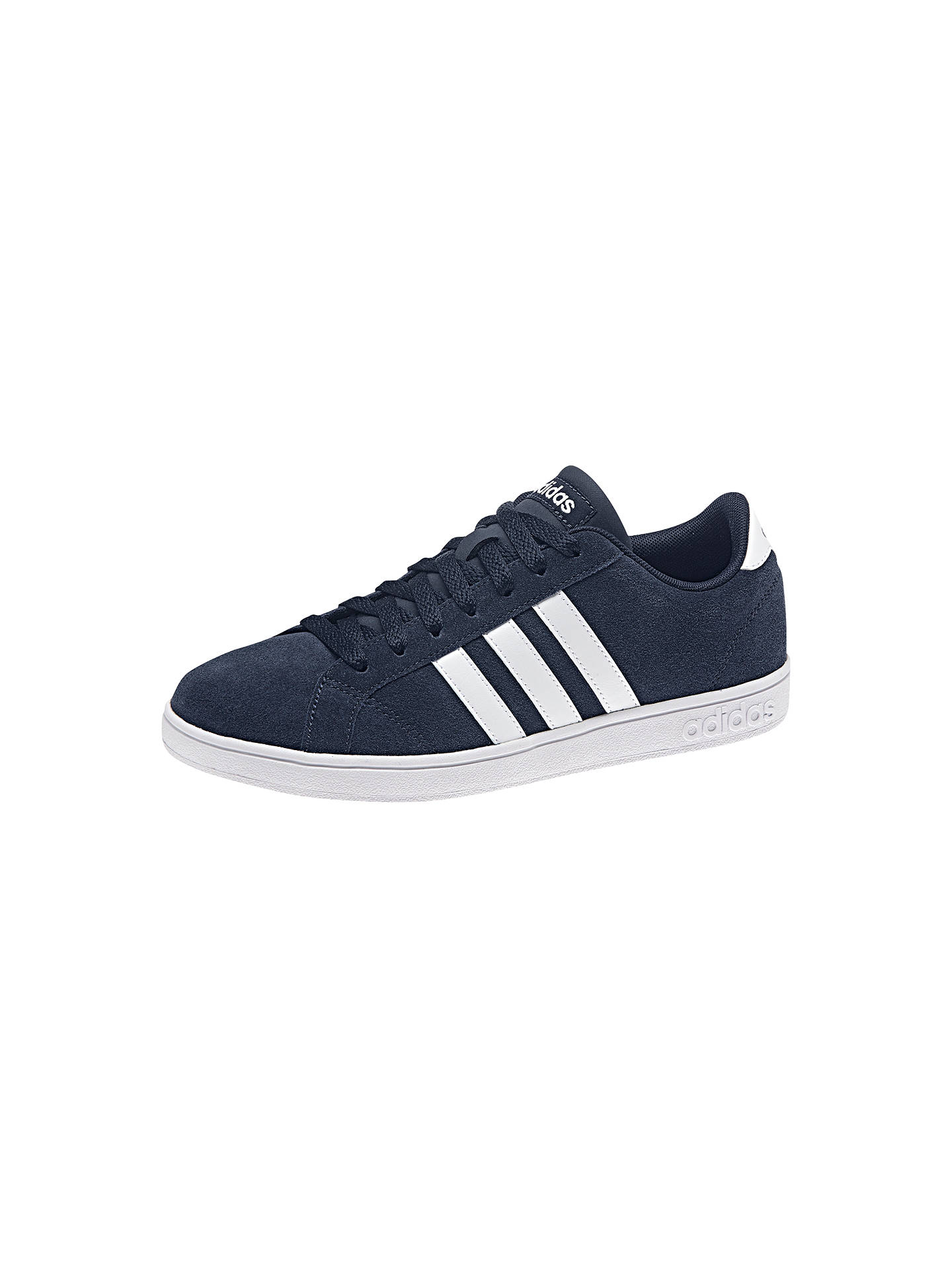 sports shoes c49fb 25abe ... Buy Adidas Neo Baseline Women s Trainers, Navy, 4 Online at johnlewis.  ...