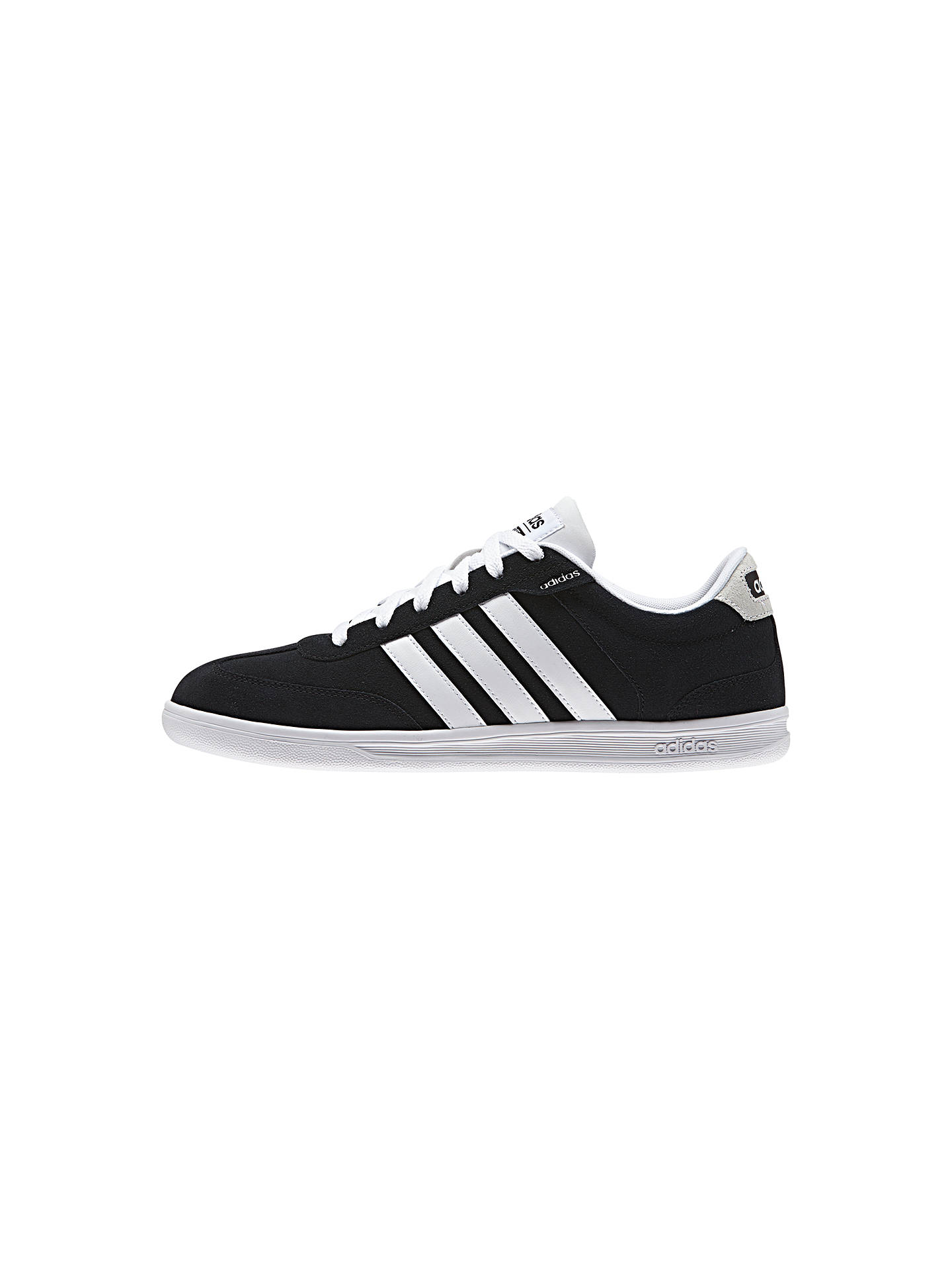 new concept a4827 b6214 ... order buyadidas neo cross court mens trainers black white 8 online at  johnlewis. bb06a db301