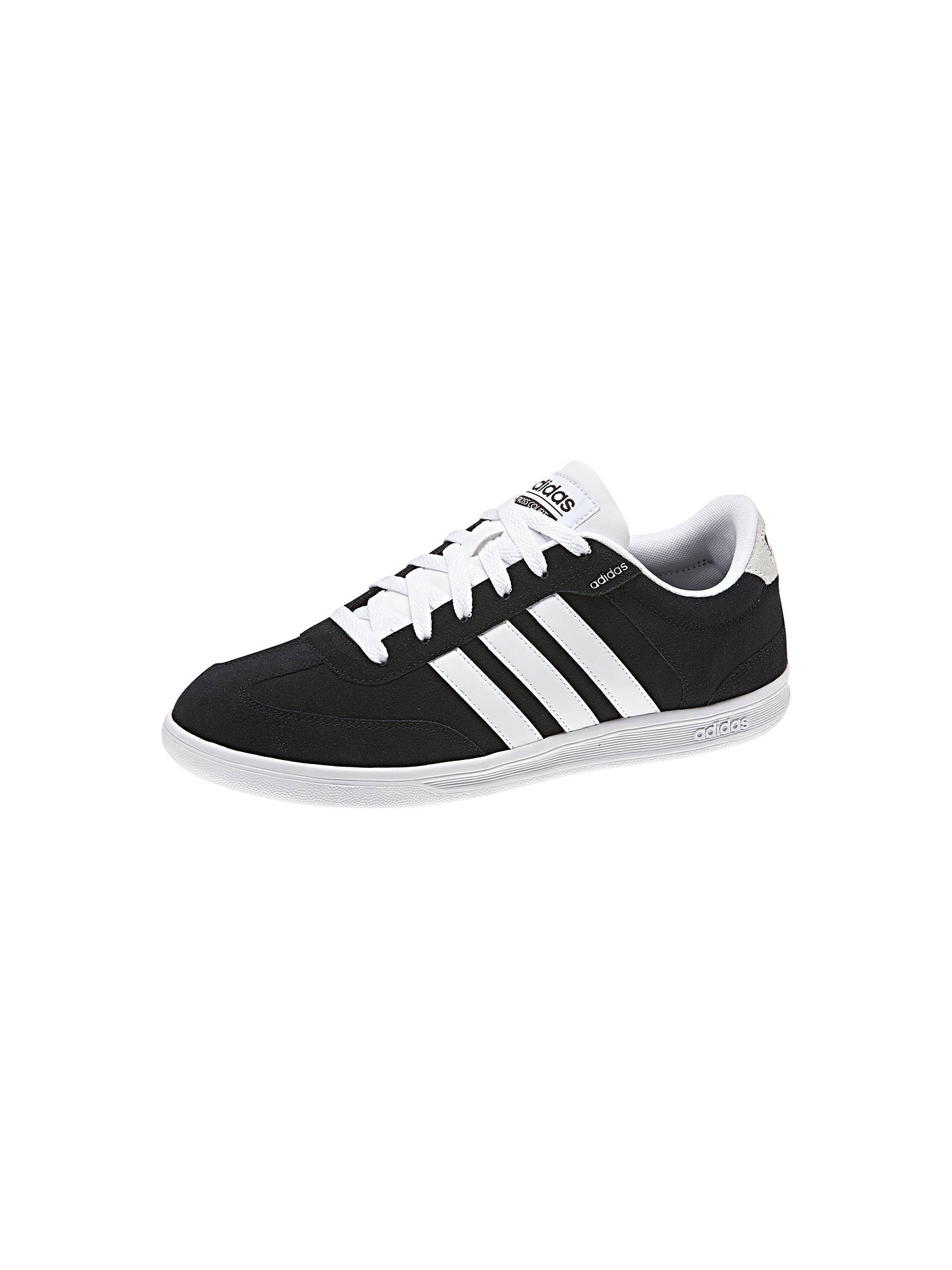 beauty half price really comfortable Adidas Neo Cross Court Men's Trainers at John Lewis & Partners