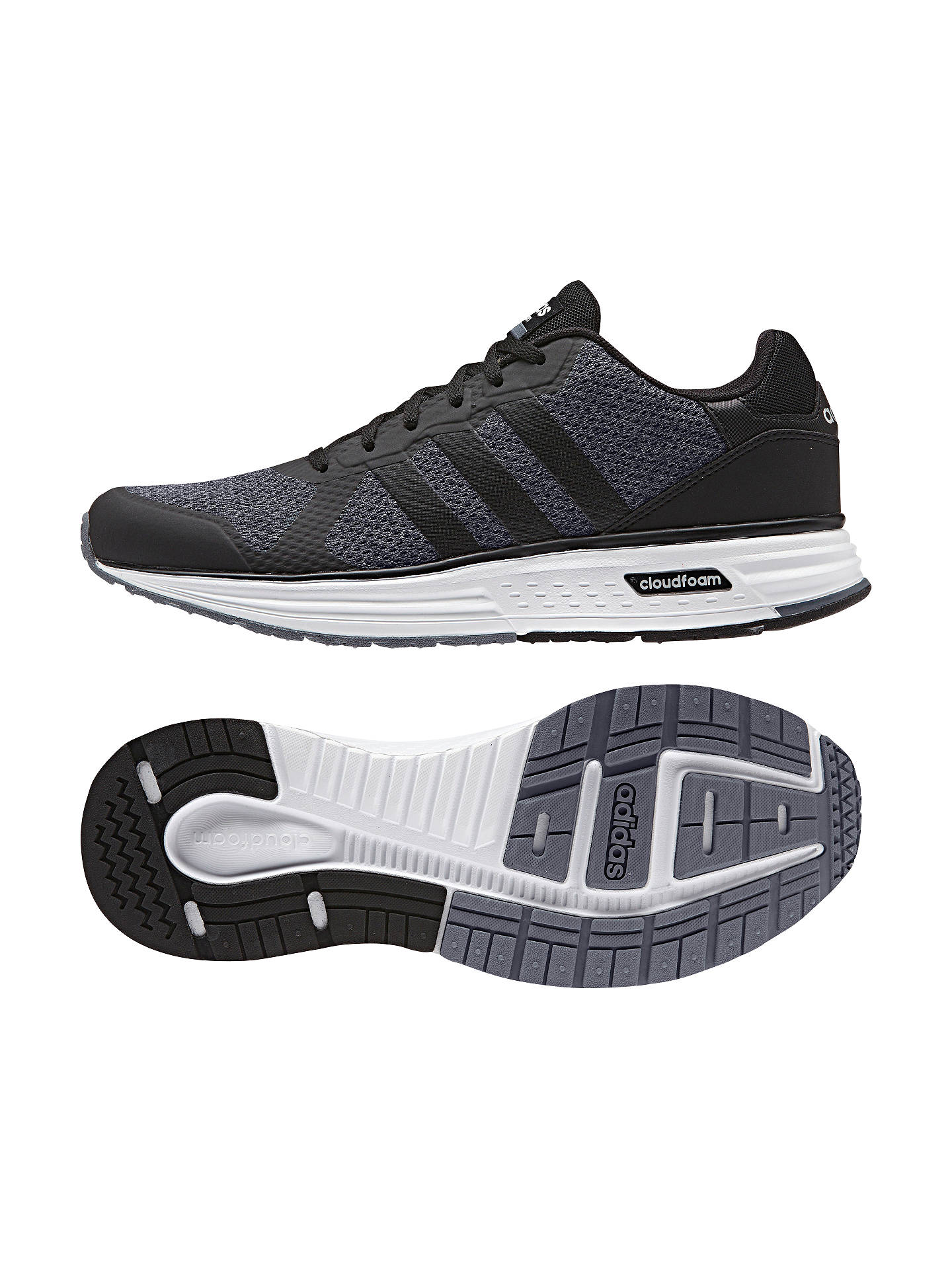 undefeated x sports shoes free delivery Adidas Neo Cloudfoam Flyer Men's Trainers, Grey at John ...
