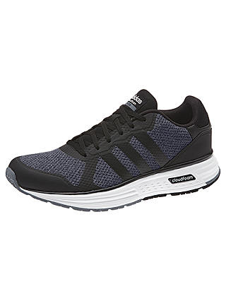 Adidas Neo Cloudfoam Flyer Men's Trainers, Grey at John Lewis ...