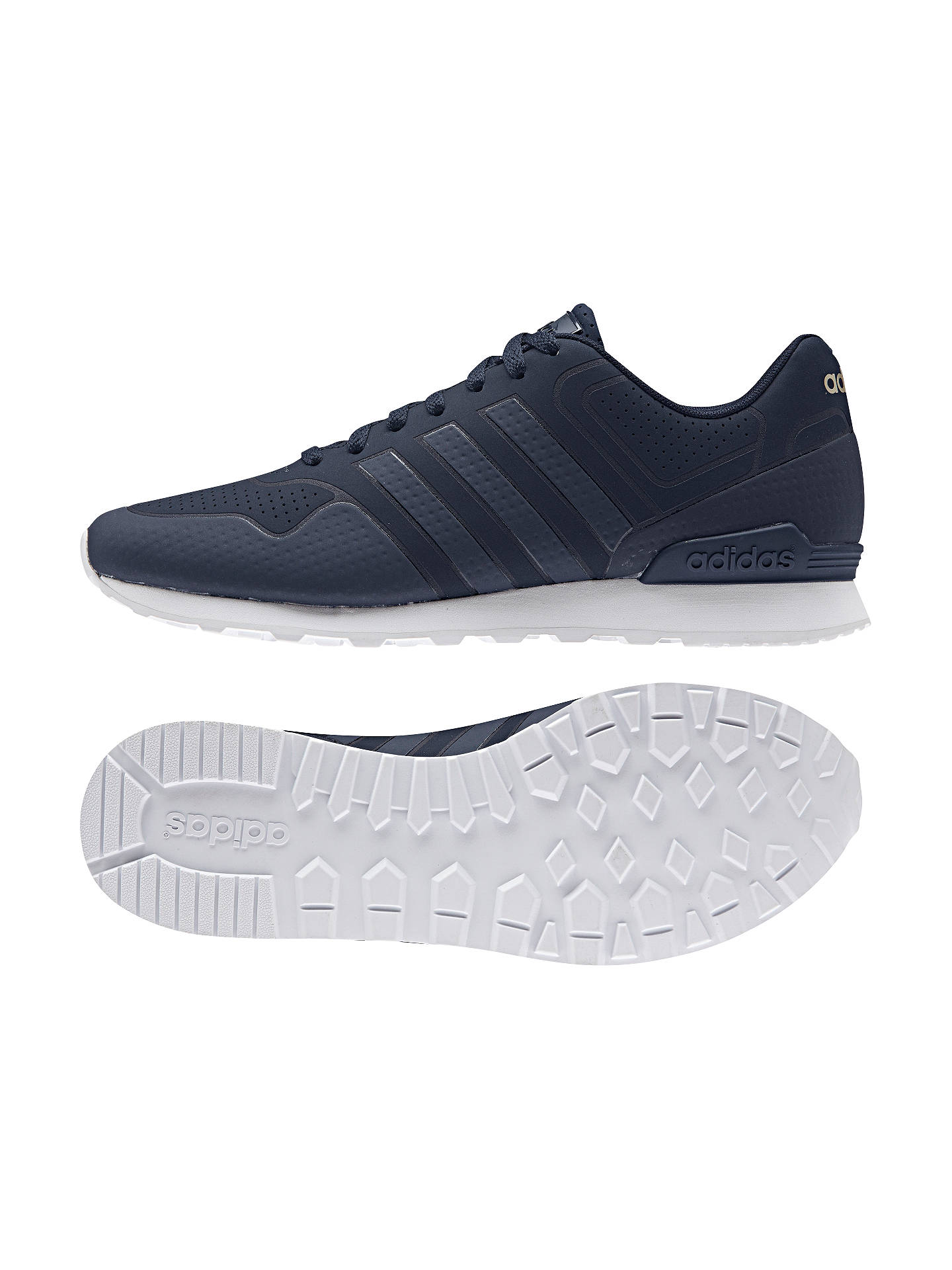 Adidas Neo 10K Casual Men's Trainers, Navy at John Lewis