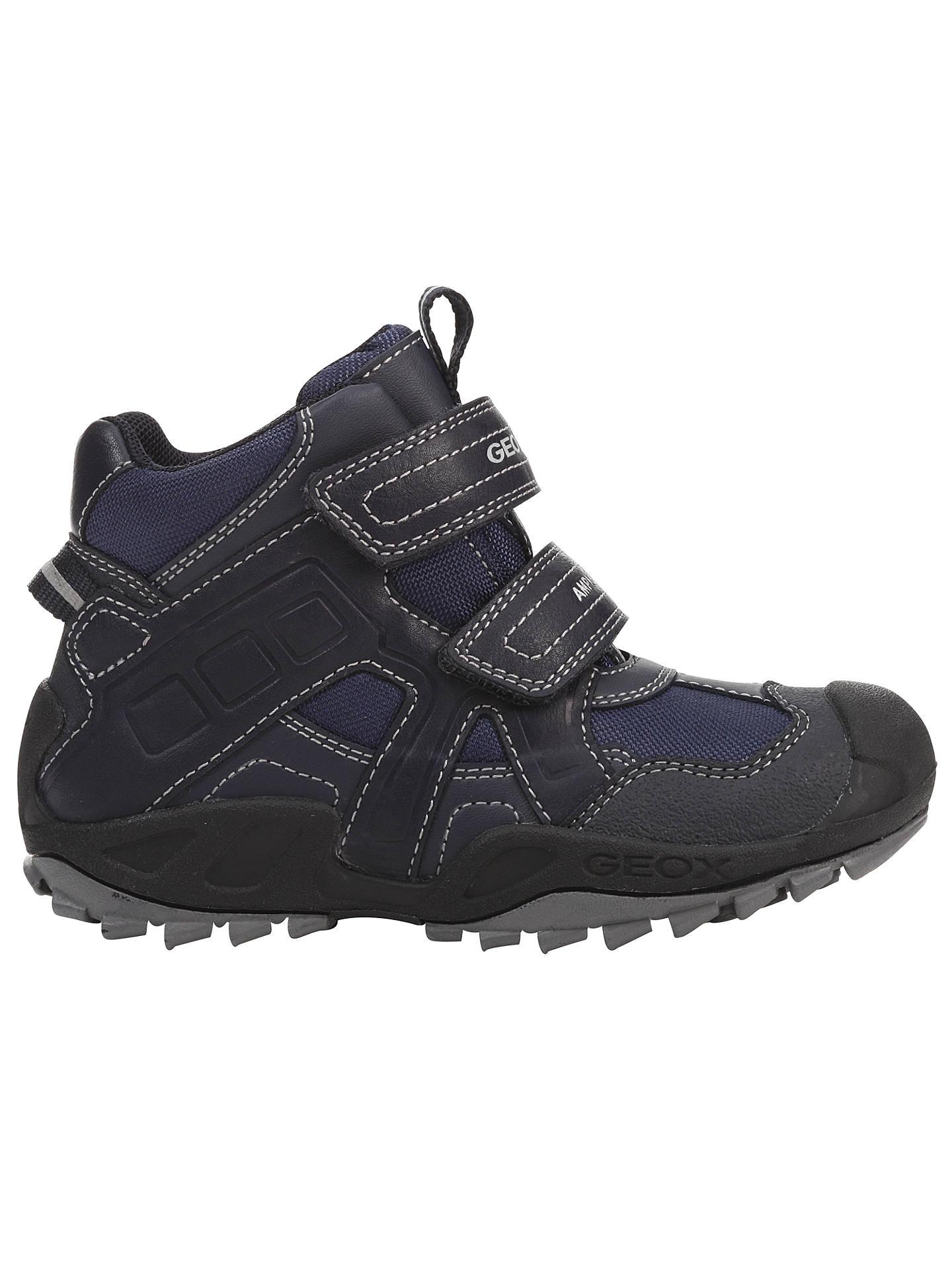 geox childrens shoes usa, Geox new savage trainers grey