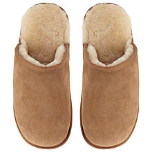 Buy John Lewis Sheepskin Mule Suede Slippers Online at johnlewis.com