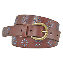 Buy White Stuff Cactus Belt, Tan Online at johnlewis.com