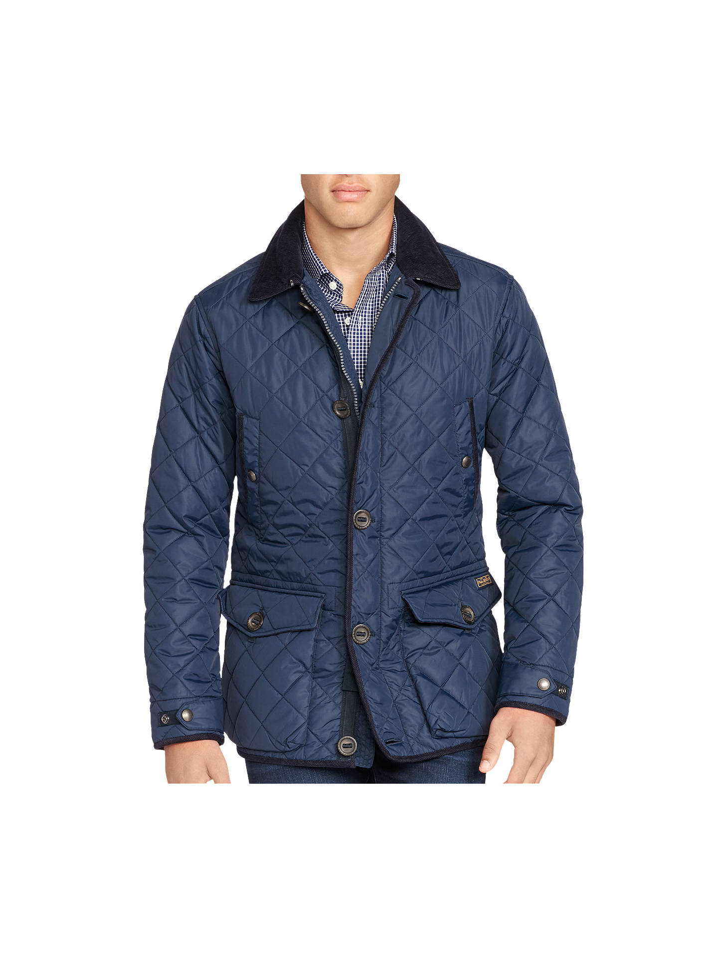 f419d8d61 Polo Ralph Lauren Car Coat Quilted Jacket