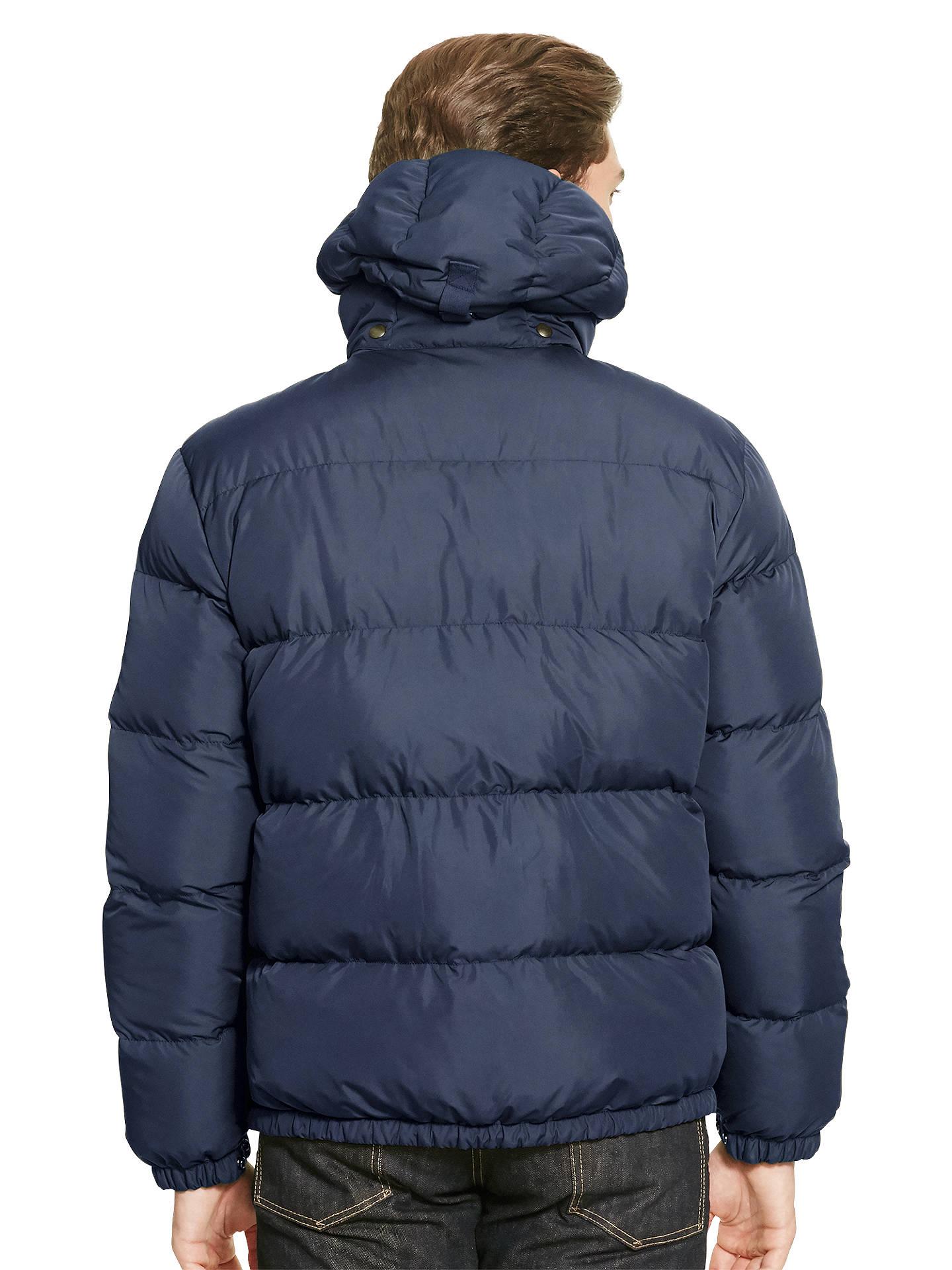 BuyPolo Ralph Lauren Elmwood Down Fill Jacket, Worth Navy, M Online at  johnlewis. bc1abc16c97e