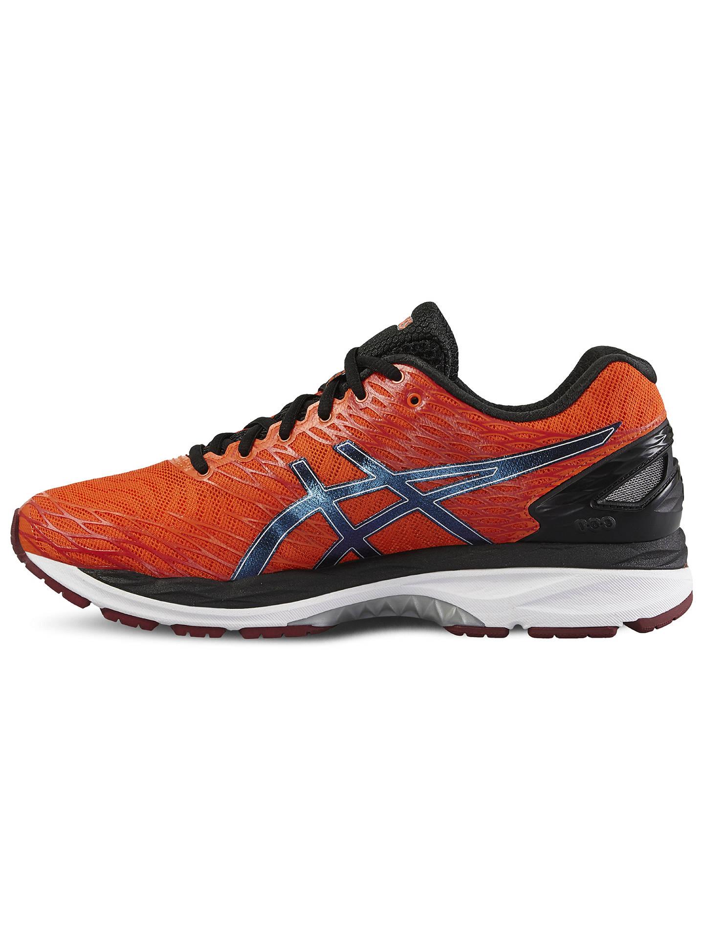 BuyAsics Gel Nimbus 18 Men's Neutral Running Shoes, Orange/Black, 7 Online at ...